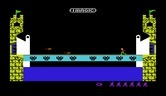 Dragonfire for Commodore VIC-20 screenshot thumbnail - Game start.
