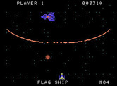 Gorf for ColecoVision - Attacking the flag ship...