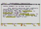 Monkeynews for Atari 8-bit - Filling in blanks in our story.