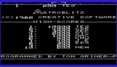 Astroblitz for Commodore VIC-20 screenshot thumbnail - High scores.
