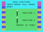 Physical Fitness for TI-99/4A - First, the wing stretcher...