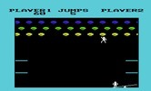 Clowns for Commodore VIC-20 - Reaching for balloons.