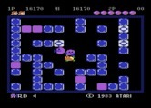 Pengo for Atari 8-bit - I've been caught!