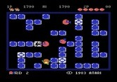 Pengo for Atari 5200 - Start of round two.