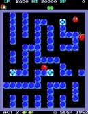 Pengo for Arcade - A sno-bee caught me!