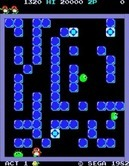 Pengo for Arcade - Kick the wall to stun sno-bees...