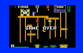 Donkey Kong Junior for Intellivision - Game over.