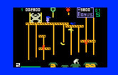 Donkey Kong Junior for Intellivision - Halfway across the screen...