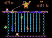 Donkey Kong Junior for ColecoVision - Level almost complete!