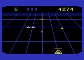 Beamrider for Atari 5200 - That's an extra life on the right beam; collect it, but don't shoot it!