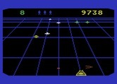 Beamrider for Atari 5200 - Dodging incoming fire...