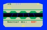 Beamrider for Intellivision - Game start; ready for sector 01?