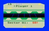 Beamrider for Intellivision - Starting a multi-player game; player 1 is up!