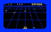 Beamrider for Intellivision - The yellow trackers switch beams to follow your movements.