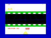 Beamrider for ZX Spectrum - Ready? Go!