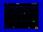Beamrider for ZX Spectrum - Oh no, I'm trapped in the corner!