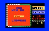 Lady Bug for Intellivision - You win an extra life!