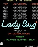 Lady Bug for Arcade - Press 1 player start to begin!