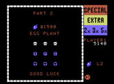 Lady Bug for ColecoVision - On to the egg plant level...