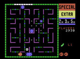 Lady Bug for ColecoVision - Run away! Creatures in pursuit...