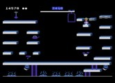 Bounty Bob Strikes Back! for Atari 5200 - Level almost completed!