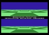 Ballblazer for Atari 7800 screenshot thumbnail - Game demo mode.