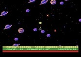Astro Chase for Atari 5200 - One enemy destoyed, but Earth isn't saved yet...