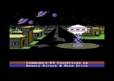 Astro Chase for Commodore 64 - Game credits.