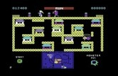 Blueprint for Commodore 64 - Level 2; I lost a life!