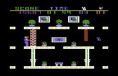 Heist, The for Commodore 64 - Stuck on a ledge at a dead end!