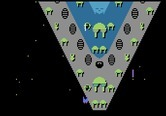 Dreadnaught Factor, The for Atari 5200 - Game start...first attack on a dreadnaught!