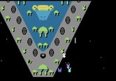 Dreadnaught Factor, The for Atari 8-bit - Attacking the first dreadnaught...