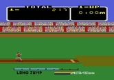 Activision Decathlon, The for Atari 5200 - Time for the long jump.