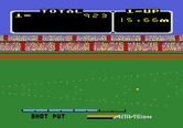 Activision Decathlon, The for Atari 5200 - Shot put results...