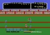Activision Decathlon, The for Atari 5200 - Jumping over some hurdles...