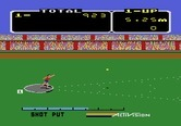 Activision Decathlon, The for Atari 5200 - Throwing the shot put...