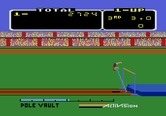 Activision Decathlon, The for Atari 5200 - Attempting a pole vault...