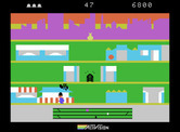 Keystone Kapers for ColecoVision - Duck under the planes or you'll lose a life...