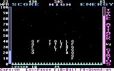 Type Attack for IBM PC/Compatibles screenshot thumbnail - The letters have almost landed! Be careful...