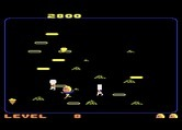 Food Fight for Atari 7800 screenshot thumbnail - Don't let the chef catch you!