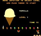 Food Fight for Arcade screenshot thumbnail - Select a starting level.