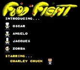 Food Fight for Arcade screenshot thumbnail - Title screen.