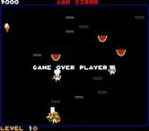 Food Fight for Arcade screenshot thumbnail - Game over.
