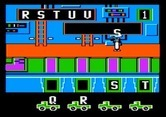 Alpha Build for Apple II screenshot thumbnail - Carrying the letter S to the correct truck...