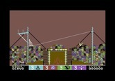 Circus Games for Commodore 64 - Falling off of the tight rope...
