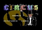 Circus Games for Commodore 64 - Title screen.