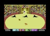 Circus Games for Commodore 64 - My ball was stolen, so I'm leaving the arena...