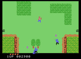 Front Line for ColecoVision - Escaping through an open field!