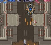 Life Force for Arcade screenshot thumbnail - This stage features several mini-bosses...