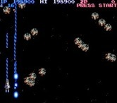 Life Force for Arcade screenshot thumbnail - Lasers cause a lot of damage, but are narrow!